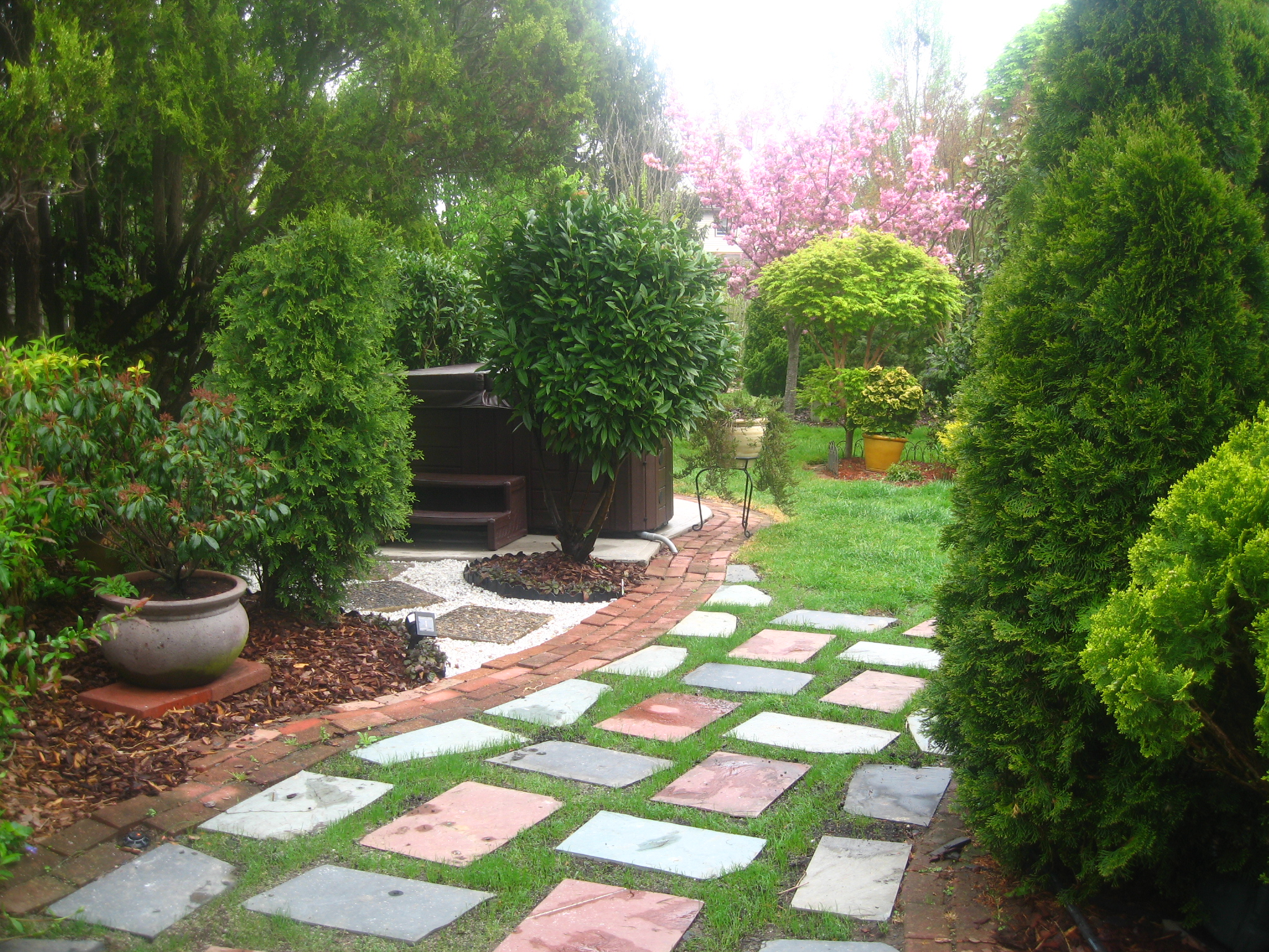 Great backyards straightdopeness for Great garden designs